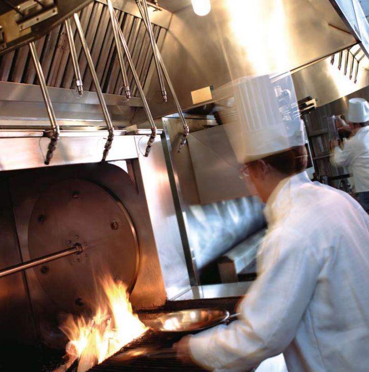Sprzęt gastronomiczny - system gaśniczy Ansul